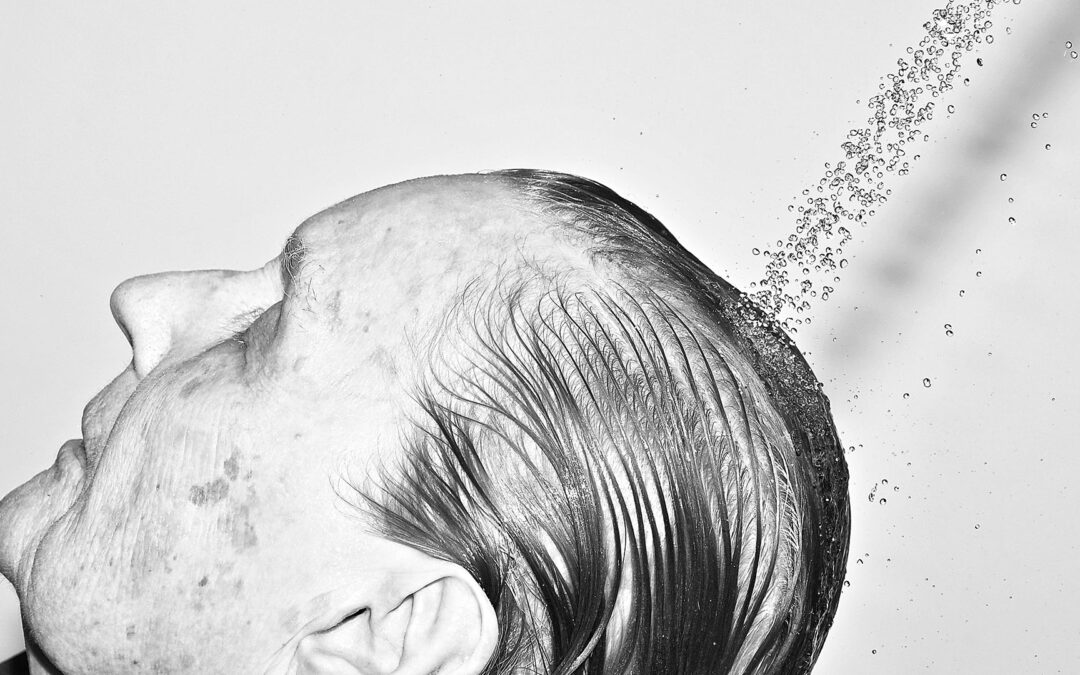 Shampooing A Clients Hair Living With Dementia